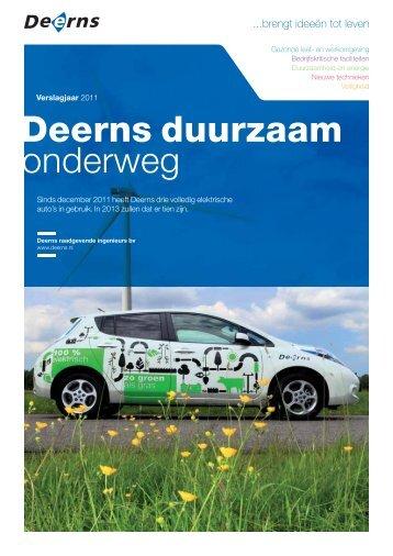 MVO-brochure 2011 Deerns duurzaam onderweg