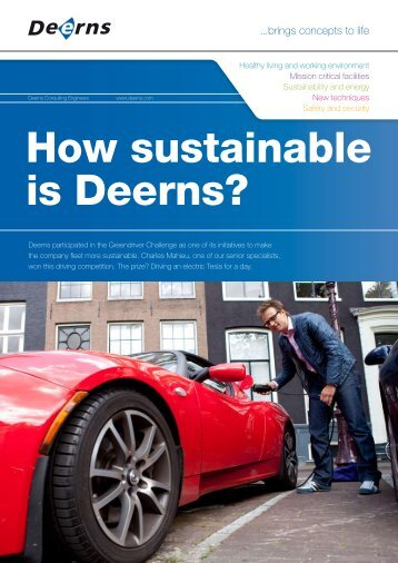 How sustainable is Deerns?