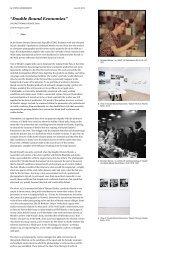 """Double Bound Economies"" | Art Agenda - Galerie Thomas Fischer"
