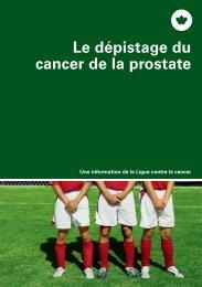 Le dépistage du cancer de la prostate - Société suisse d'urologie