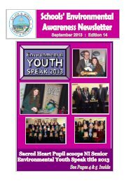 September 2013 Schools - Newry and Mourne District Council
