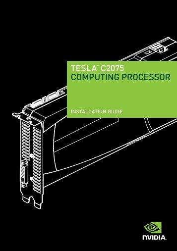 TESLA™ C2075 COMPUTING PROCESSOR