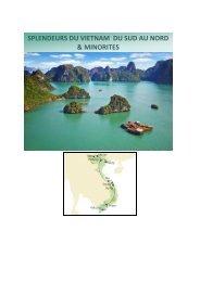 splendeurs du vietnam du sud au nord & minorites - IGESA