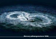 Mercury påhængsmotorer 2008 - mercurymarine.dk