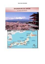 SPLENDEURS DU JAPON - IGESA