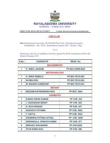 vtu phd coursework syllabus 2011