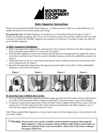 britax baby carrier instructions