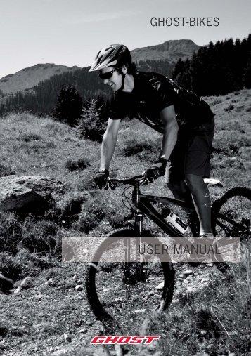 Ghost Bikes Manual