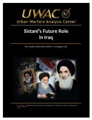 Sistani's Future Role in Iraq - Babylon's Covert War