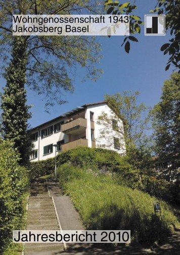 Jahresbericht 2010 -  WG 1943 Jakobsberg