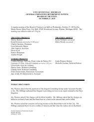 Oct 2008 Minutes (W0687915).DOC - City of Pontiac