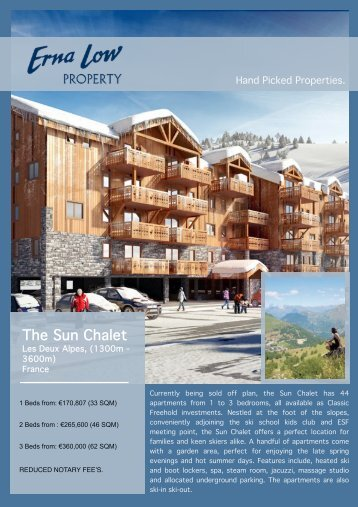 Les Deux Alpes Sun Chalet draft - Erna Low Property