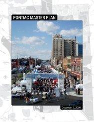 PONTIAC MASTER PLAN - City of Pontiac