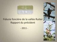 Lire le rapport de 2011 en format PDF - La fiducie foncière de la ...
