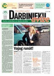 Darbinieku avīze Nr. 8 - Latvijas Brīvo Arodbiedrību Savienība