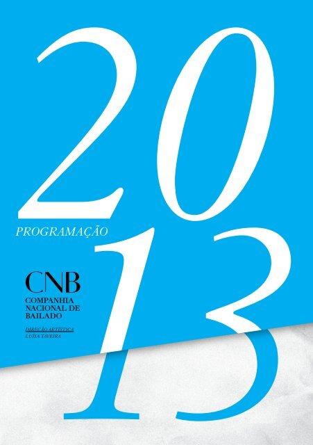 consulte aqui o programa online - Companhia Nacional de Bailado