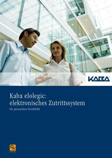 Kaba elolegic - bei der FMS Sicherheitstechnik GmbH
