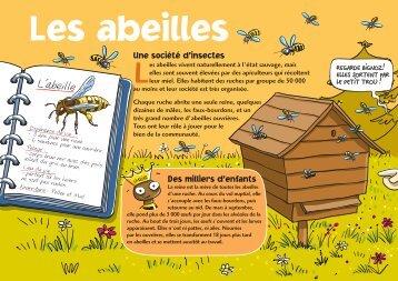 Les abeilles - Le Petit Gibus