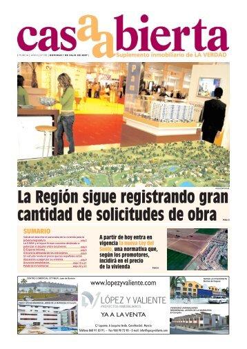 La Región sigue registrando gran cantidad de ... - laverdad.es