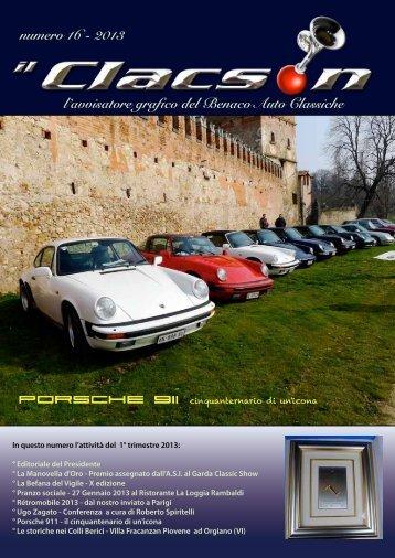 edizione n° 16 2013 - Benaco Auto Classiche