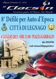 Edizione speciale Defileè di Legnago 17 2013 - Benaco Auto ...