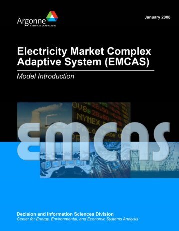 Electricity Market Complex Adaptive Systems - Decision and ...