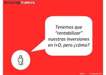 Carlos Alvarez - Knowledge Investors - Sergas