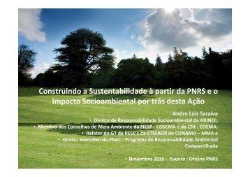 Construindo a Sustentabilidade à partir da PNRS e o Impacto ...