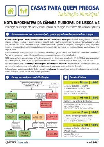 Nota Informativa 2 - Programa Local de Habitação - Câmara ...