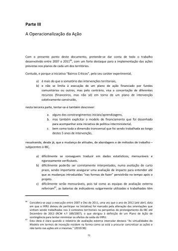 Registos do Processo 2012 - volume I - ficheiro 2 - Programa Local ...