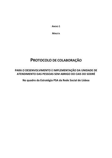 Anexo: Minuta do Protocolo - Programa Local de Habitação