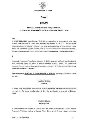 Anexo 1 (MINUTA) - Programa Local de Habitação - Câmara ...