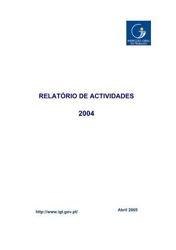 2004 - Autoridade para as Condições do Trabalho