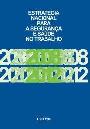 Estratégia nacional para a segurança e saúde no trabalho 2008-2012