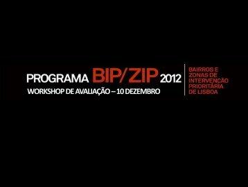 WORKSHOP DE AVALIAÇÃO – 10 DEZEMBRO - Programa Local ...