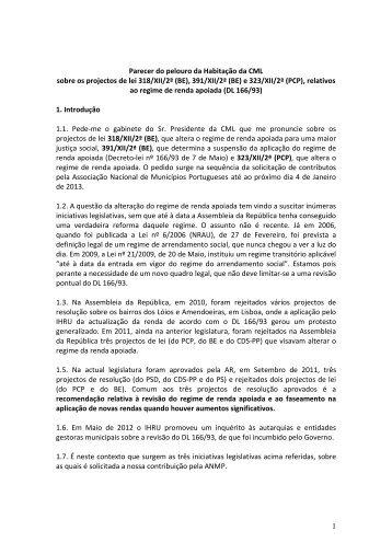 Documento 3 - Programa Local de Habitação - Câmara Municipal ...