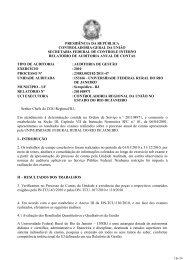 PRESIDÊNCIA DA REPÚBLICA CONTROLADORIA ... - UFRRJ