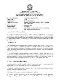 PRESIDÊNCIA DA REPÚBLICA CONTROLADORIA-GERAL ... - IFTM