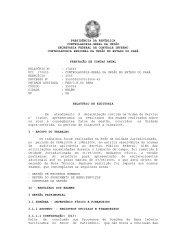 presidência da república controladoria-geral da união secretaria ...