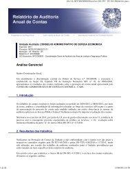 Relatório Gestão de 2011