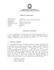 Relatório de Auditoria - Controladoria-Geral da União