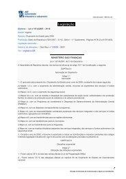 Lei n.º 67-A/2007, de 31 de Dezembro - Portal das Finanças
