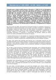 Decreto-Lei n.º 185/2009 - Portal das Finanças