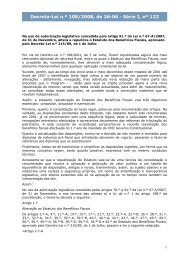 Decreto-Lei nº 108/2008 - Portal das Finanças