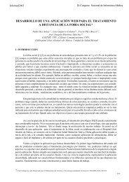 desarrollo de una aplicación web para el tratamiento a distancia de ...