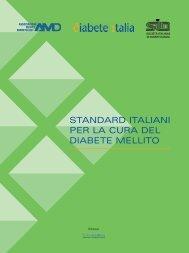 Standard italiani per la cura del diabete mellito - AMD