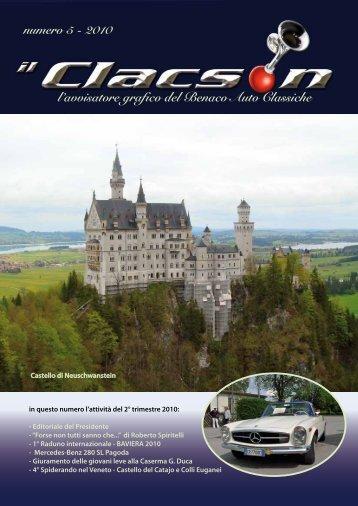 edizione n° 5 anno 2010 - Benaco Auto Classiche