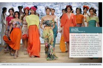 Rio de Janeiro and São Paulo fashion weeks continue to ... - Texbrasil