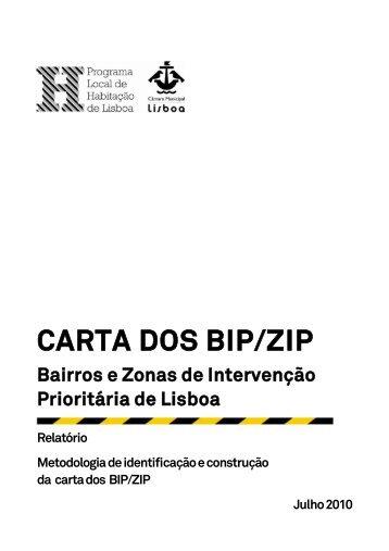 CARTA DOS BIP/ZIP - Programa Local de Habitação