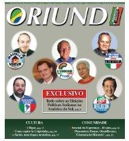 Oriundi, Revista italo-brasileira de informação e emoção». - Povo.it